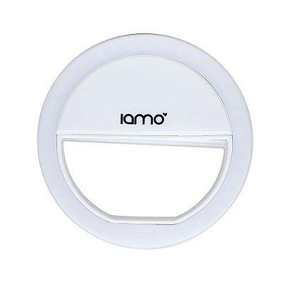 Selfie Ring Light P/ Celular Iamo (Branco)