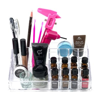 Acrílico Organizador Porta Maquiagens