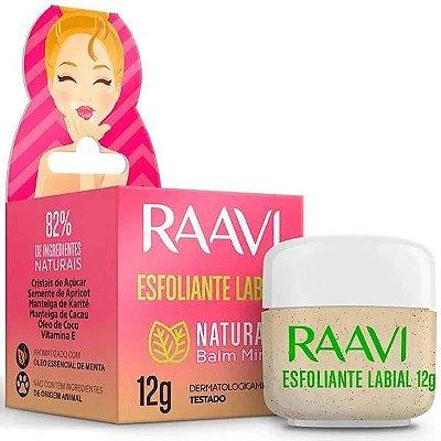 Esfoliante Labial Natural Raavi 12g.
