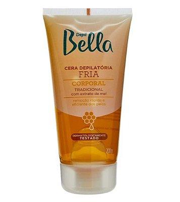 Cera Depilatória Fria Depil Bella (Bisnaga) 200g.