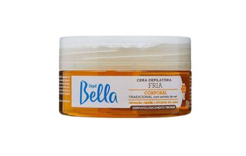 Cera Depilatória Fria Depil Bella (Pote) 200g.