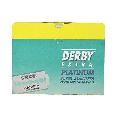Lâmina Derby Extra Platinum Cartela 50un.