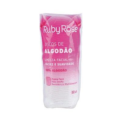 Discos de algodão Ruby Rose