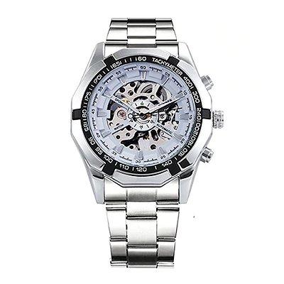 Relógio Forsining Skeleton Aço
