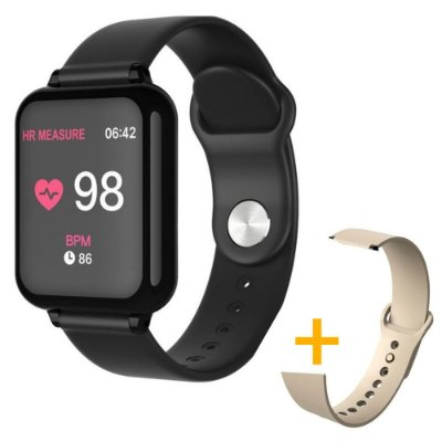 Relógio Smartwatch Hero Band - Android e iOS + 1 Pulseira de Brinde