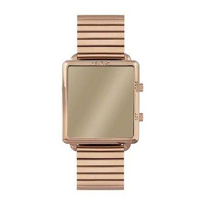 Relógio Euro Feminino Fashion Fit Reflexos - Rosê - EUJHS31BAJ/4D