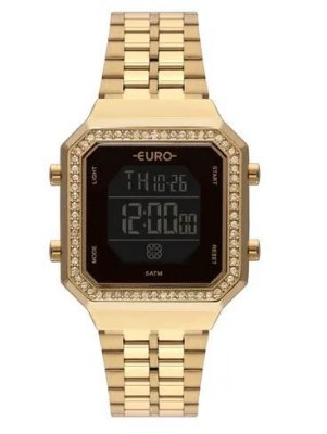 Relógio Euro Feminino Fashion Fit - Dourado - EUBJK032AB/4P