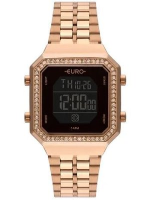 Relógio Euro Feminino Fashion Fit Rosê - EUBJK032AA/4P