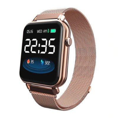 Relógio Eletrônico Smartwatch CF Style - Android e iOS - Dourado Rosê