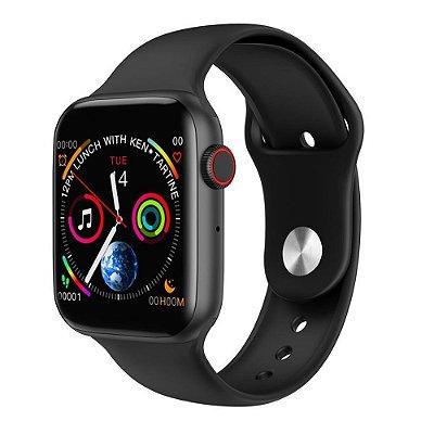 Relógio Eletrônico Smartwatch OLED Iwo 8 - Preto - 44mm
