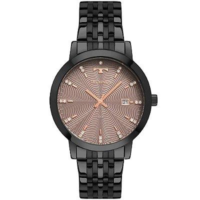Relógio Technos Feminino Trend Preto - 2117LAQ/4T