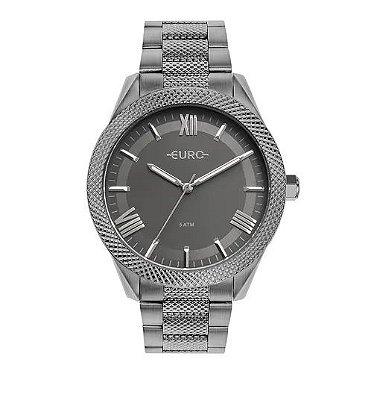 Relógio Euro Feminino Boyfriend - Cinza - EU2035YSB/4F