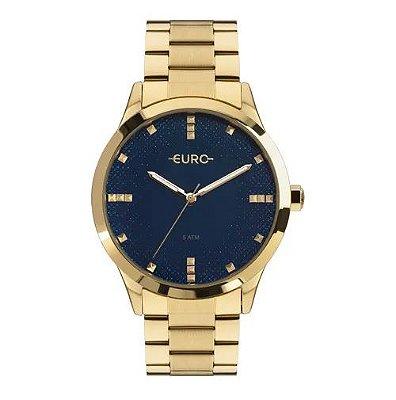 Relógio Euro Glitter Fever Feminino - Dourado - EU2036YOJ/4A