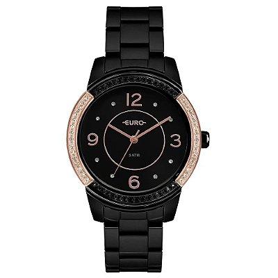Relógio Euro Feminino Color Mix Glam - Preto - EU2036YMQ/4P