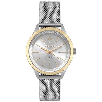 Relógio Technos Fashion Trend Feminino - Prata - 2039BZ/5K