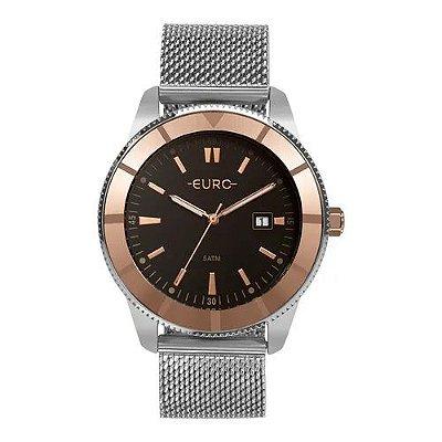 Relógio Euro Feminino Metal Trendy - Prata - EU2115AK/5P