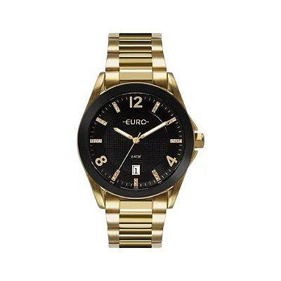 Relógio Euro Feminino Color Mix Shine - Dourado - EU2315HM/4P