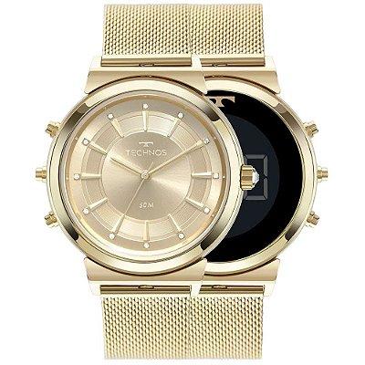 Relógio Technos Feminino Curvas - Dourado - 9T33AA/4X