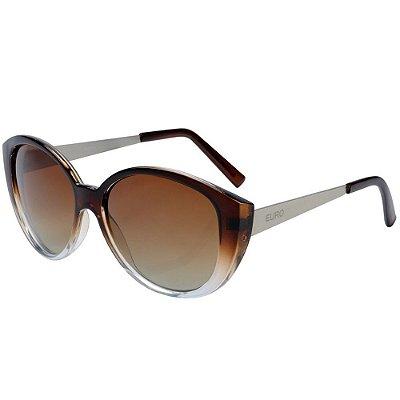 Óculos de Sol Euro Degradê OC020EU/2M - Marrom