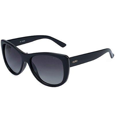 Óculos de Sol Euro Degradê OC052EU/8P - Preto