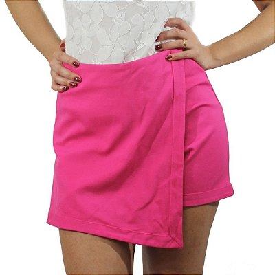 Shorts Saia Assimétrico Pink - TALGUI