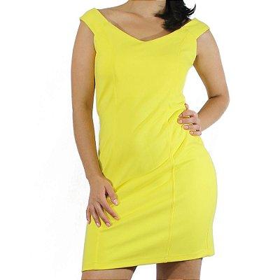 Vestido Ombro a Ombro Amarelo - Vitral