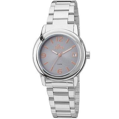 Relógio Allora Feminino Prata - AL2115AF/3K