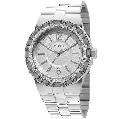 Relógio Euro Brilho Assimétrico Prata - EU2035XYO/3K