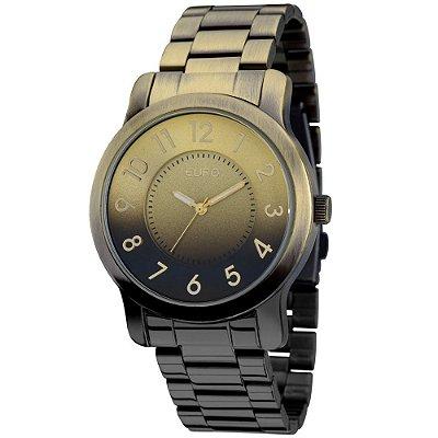 Relógio Euro Degradê Dourado - EU2035YAP/4D