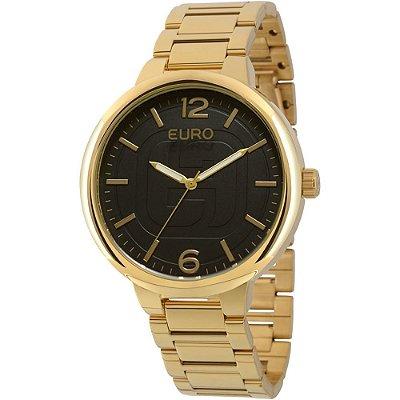 Kit Relógio Euro Basic Preto + 1 Lenço - EU2036LYT/K4P