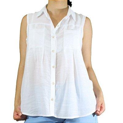 Camisa Regata Modelo Batinha - Cittá