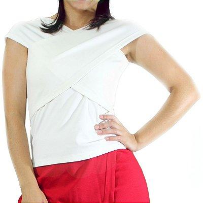 Blusa Bandagem Creme - TALGUI