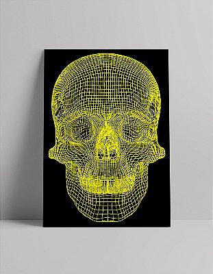 Poster de Caveira 3D