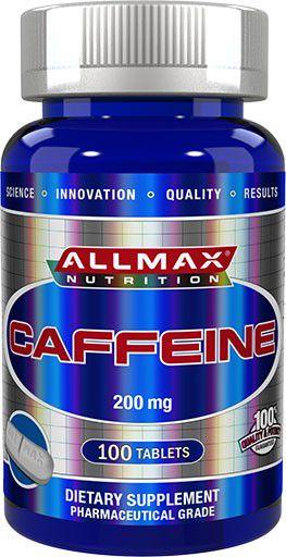 Cafeina 100 Capsulas 200mg - Allmax Nutrition