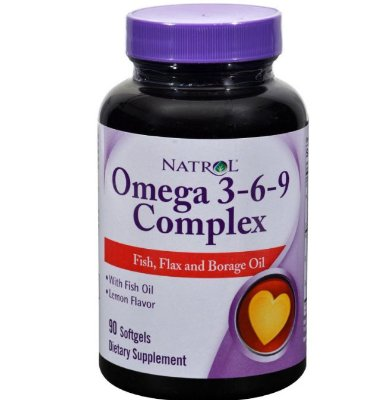NATROL OMEGA 3-6-9 COMPLEX LEMON - 90 SOFTGELS