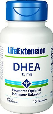 LIFE EXTENSION DHEA | 15 MG, 100 CÁPSULAS