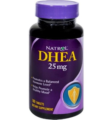 NATROL DHEA - 25 MG - 180 TABLETS
