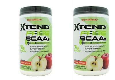 2  Scivation Xtend Raw Unflavored - 30 Servings