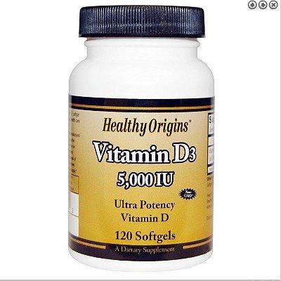 Vitamina D3 5000 Ui 120 Cápsulas