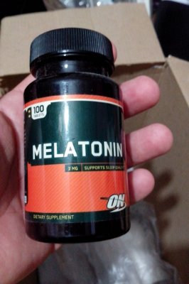Melatonina 3mg (100 cápsulas) - Optimum Nutrition Hormônio Natural do Sono Durma Bem