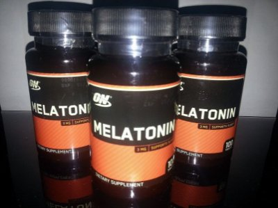 3 - Melatonina 3mg (100 cápsulas) Cada - Optimum Nutrition Hormônio Natural do Sono Durma Bem
