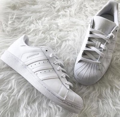 Tênis Adidas Branco Superstar Foundation - Inspired
