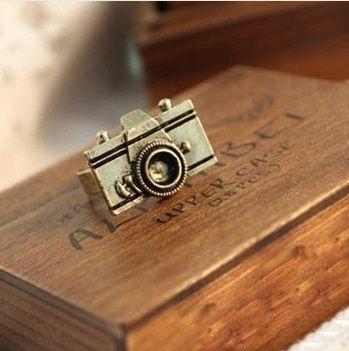 Anel Ouro Velho - Camera Retro