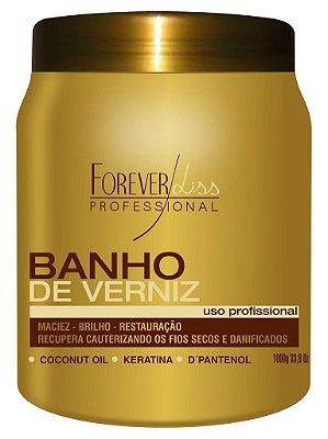 Forever Liss Banho de Verniz 1Kg Hidratação Brilho