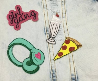 Cartela de Patch Pizza