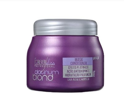 Forever Liss Professional Platinum Blond - Máscara Matizadora 250g