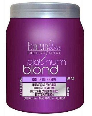 Forever Liss Platinum Intensive Botox Matizador 1kg