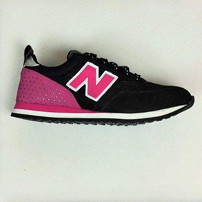 Tênis New Balance 574 - Inspired - Preto & Pink