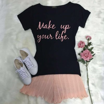 T-Shirt Make Up