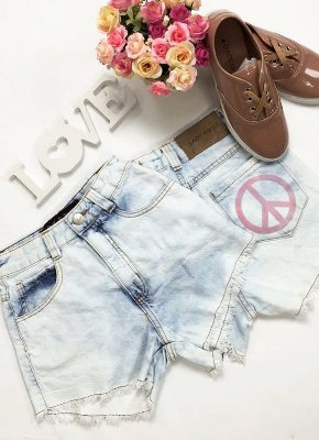 Short Jeans Paz & Amor